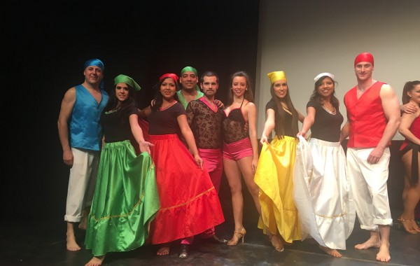 Los Guaracheros en el Festival de Villarrobledo