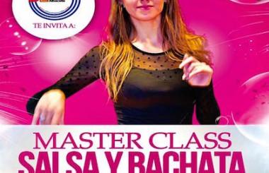 """Organizamos MasterClass """"Salsa & Bachata"""" con la bailarina Miriam Palacio."""