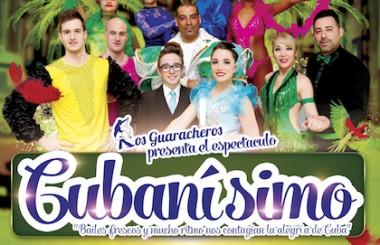"""Todo previsto para el estreno del Show """"Cubanísimo"""" de nuestra Cía. Los Guaracheros."""