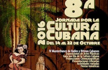 Presentado el cartel de la VIII Jornada Cultural Cubana, que vuelve en Octubre a Albacete.
