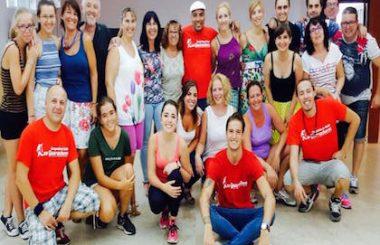 Finaliza taller intensivo de Bailes Latinos en el municipio de Montalvos.