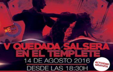 El templete del Paseo de la Cuba acogerá una nueva Quedada Salsera en Verano.