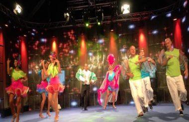 """Nuestra Cía. """"Los Guaracheros"""" festejó sus 8 años danzando en la Feria de Albacete."""