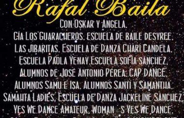 """Nuestra Cía """"Los Guaracheros"""" participará en la II Gala danzaria RAFAL BAILA en Alicante."""