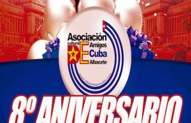 El 16 de diciembre se cumplen 8 años de constituida esta Asociación Cultural