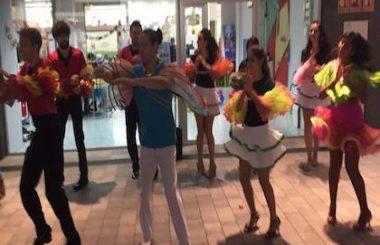 """Nuestra Brigada Joven """"Los guaracheritos"""" recrearán un Carnaval Cubano en IMAGINALIA."""