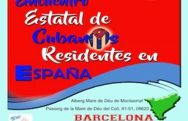 Convoca la FACRE al IV Encuentro Nacional de Cubanos Residentes en España.