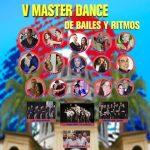 La V Master Dance de Bailes y Ritmos, los días 21 y 22 de Octubre, tendrá más talleres y más música.