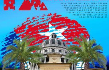 Todo listo, para disfrutar del 16 al 22 de Octubre de la IX Jornada por la Cultura Cubana en Albacete 2017