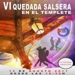 Para la VI Quedada Salsera en el templete, el 13 de agosto se convoca a todos los bailadores de Albacete.