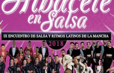 """Se presenta en la Feria de Albacete, el Cartel anunciador del IX Encuentro """"Albacete en Salsa 2018"""""""