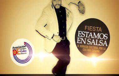 """Una Fiesta Cubana por el 20 de Octubre, protagonizarán el Rumbero """"Pedro Qba"""" y nuestra Cía. """"Los Guaracheros""""."""