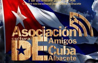 "Se convoca para el 1 de diciembre la Asamblea General de esta Asoc. Cultural ""Amigos de Cuba"" de Albacete."