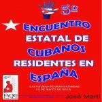 Convoca la Federación de Asociaciones de Cubanos en España, al V Encuentro nacional, este año en Canarias.