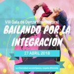 """El 27 de Abril tendrá lugar la VIII Gala de danza Intercultural """"Bailando por la Integración 2018"""""""