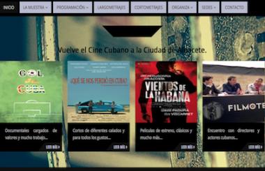 Para los días del 11 al 17 de Junio está programada la 10ª Muestra de Cine Cubano en Albacete 2018.