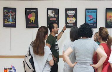 """Hasta el 18 de Junio podrá verse la Expo de """"Carteles de Cine Cubano en la era digital"""" en Albacete."""