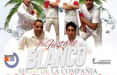 """Para el viernes 13 de Julio tendremos la novena """"Fiesta de Blanco"""" en el Pub Puerto Príncipe."""