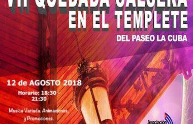 El 12 de Agosto tendrá lugar la VII Quedada bailable en el Templete del Paseo de la Cuba, Albacete.