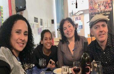 Con una Comida Cubana de convivencia concluye la 10ªJornada Cultural Cubana en Albacete 2018.