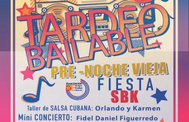 Un gran Tardeo Bailable con taller y mini-concierto tiene prevista nuestra Asociación para cerrar el 2018.