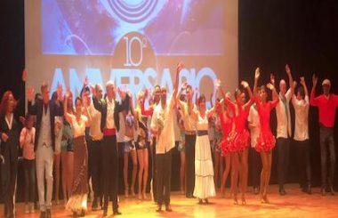 """Muy variada y emotiva la Gala por el 10º Aniversario de esta Asoc. Cultural """"Amigos de Cuba"""" de Albacete."""