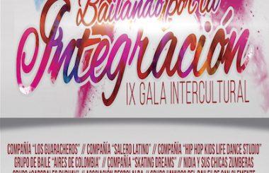 """El 15 de Febrero 2019, el Auditorio Municipal acogerá la IX Gala """"Bailando por la Integración"""""""