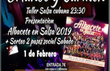 """Este viernes 1 de Febrero será la Fiesta presentación del """"Albacete en Salsa 2019"""" en el Pub Puerto Principe."""