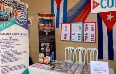 """Con un particular Stand nuestra Asociación Cultural representa a """"CUBA"""" en la VIII Feria de las Culturas de Albacete 2019."""