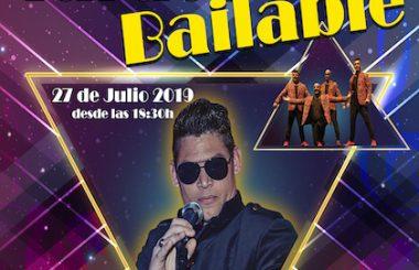 """Actuará el Cantante cubano """"Fidel Daniel Pantoja"""" el 27 de Julio, los """"Tardeos Bailables"""" en la Sala Awenn."""