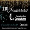"""Este 11 de Septiembre 2019, festejamos el 11º Aniversario de la primera actuación de nuestra Cía. """"Los Guaracheros""""."""
