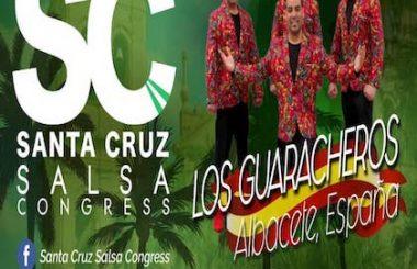"""Los chicos de nuestra Cía. """"Los Guaracheros"""" participarán en el Santa Cruz Salsa Congress 2019 en Bolivia."""