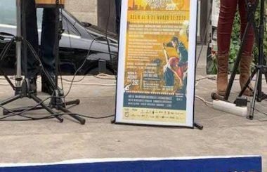 El Cartel promocional del 11º Encuentro «Albacete en Salsa 2020» se presentó entre música y baile.