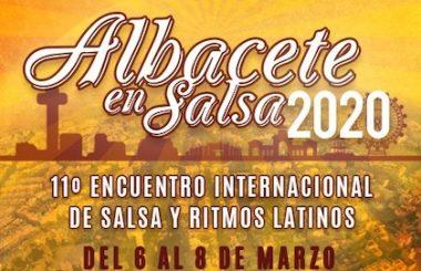 """Este 20 de Octubre 2019, se presentará el Cartel anunciador del 11º Encuentro Internacional """"Albacete en Salsa 2020"""""""