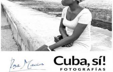 """La Libreria Popular acoge hasta el 5 de diciembre la Exposición """"CUBA Sí!"""" de la fotógrafa ciudarealeña Rosa Masias."""