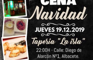 """El 19 de Diciembre será la Cena de Navidad de la Asoc. Cultural """"Amigos de Cuba"""" de Albacete. Esta todos invitados!"""