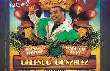 """Este viernes 21 de Febrero toca """"Noche Cubana"""" con Orlando Gonzalez en Pub Puerto Príncipe."""