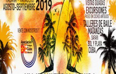 """Nuestra Asoc. Cultural """"Amigos de Cuba"""" de Albacete, prepara nuevo viaje a CUBA para finales de Septiembre."""