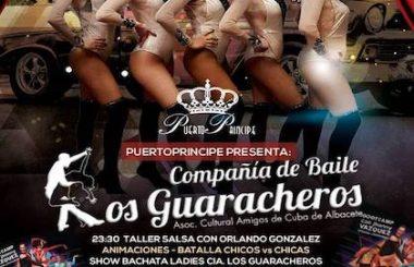 """Nuestra Cía. """"Los Guaracheros"""" protagoniza la Fiesta de este viernes 26 de Abril en el Pub Puerto Príncipe."""