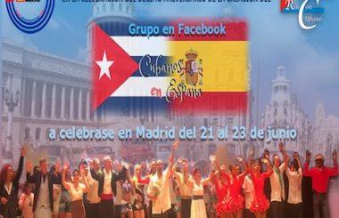 """Colabora nuestra asociación en la organización del  encuentro por los 10 años del grupo de FB """"Cubanos en España"""""""